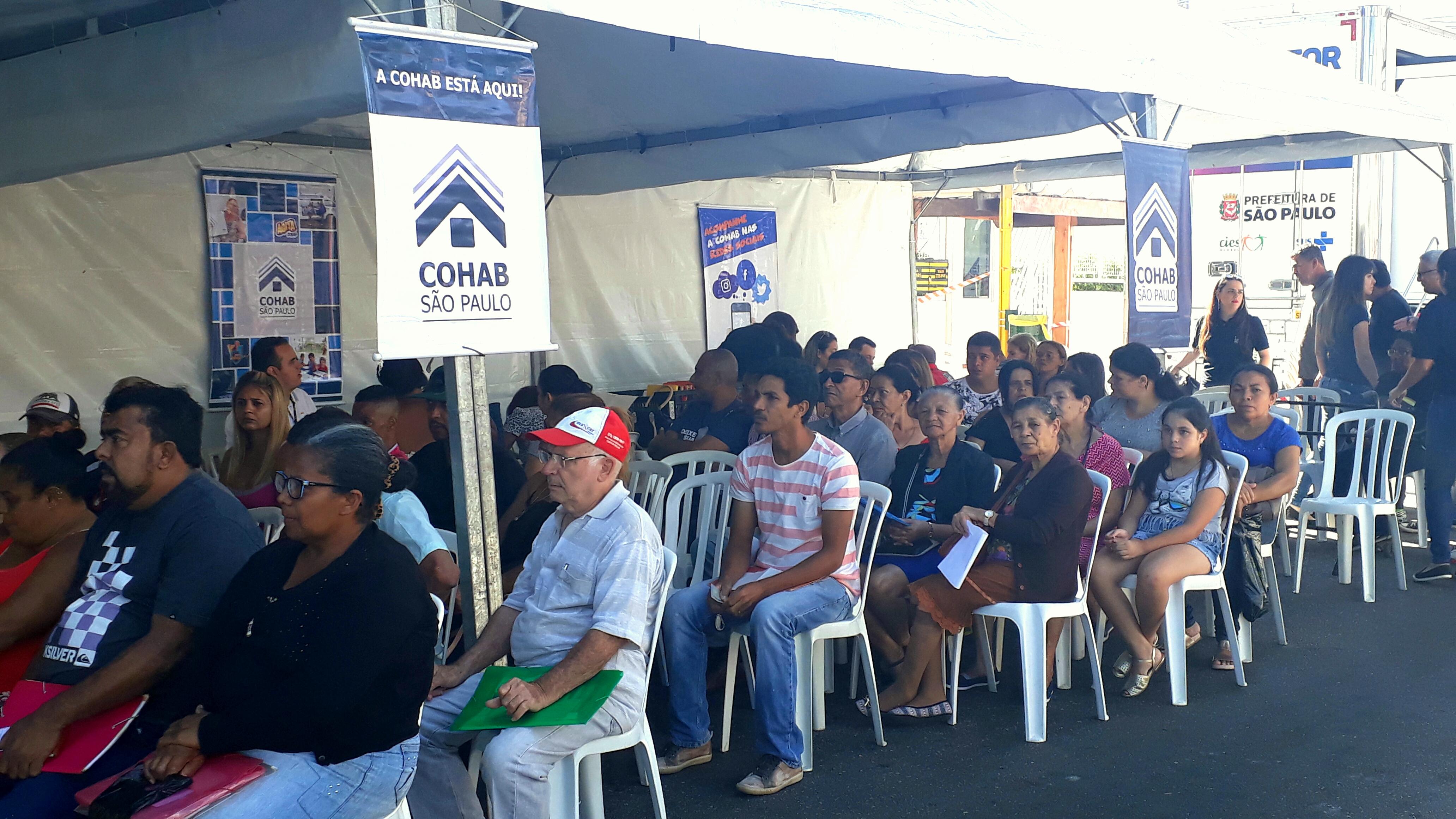 Mutuários convocados para entrega de TQs, assinaturas de contratos e renegociações no evento