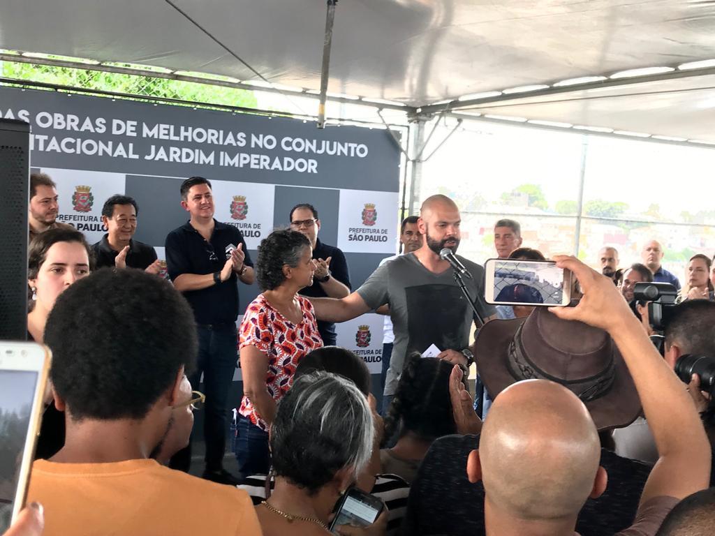 Cohab-SP faz cerimônia de início de obras de requalificação em conjunto habitacional no Ipiranga