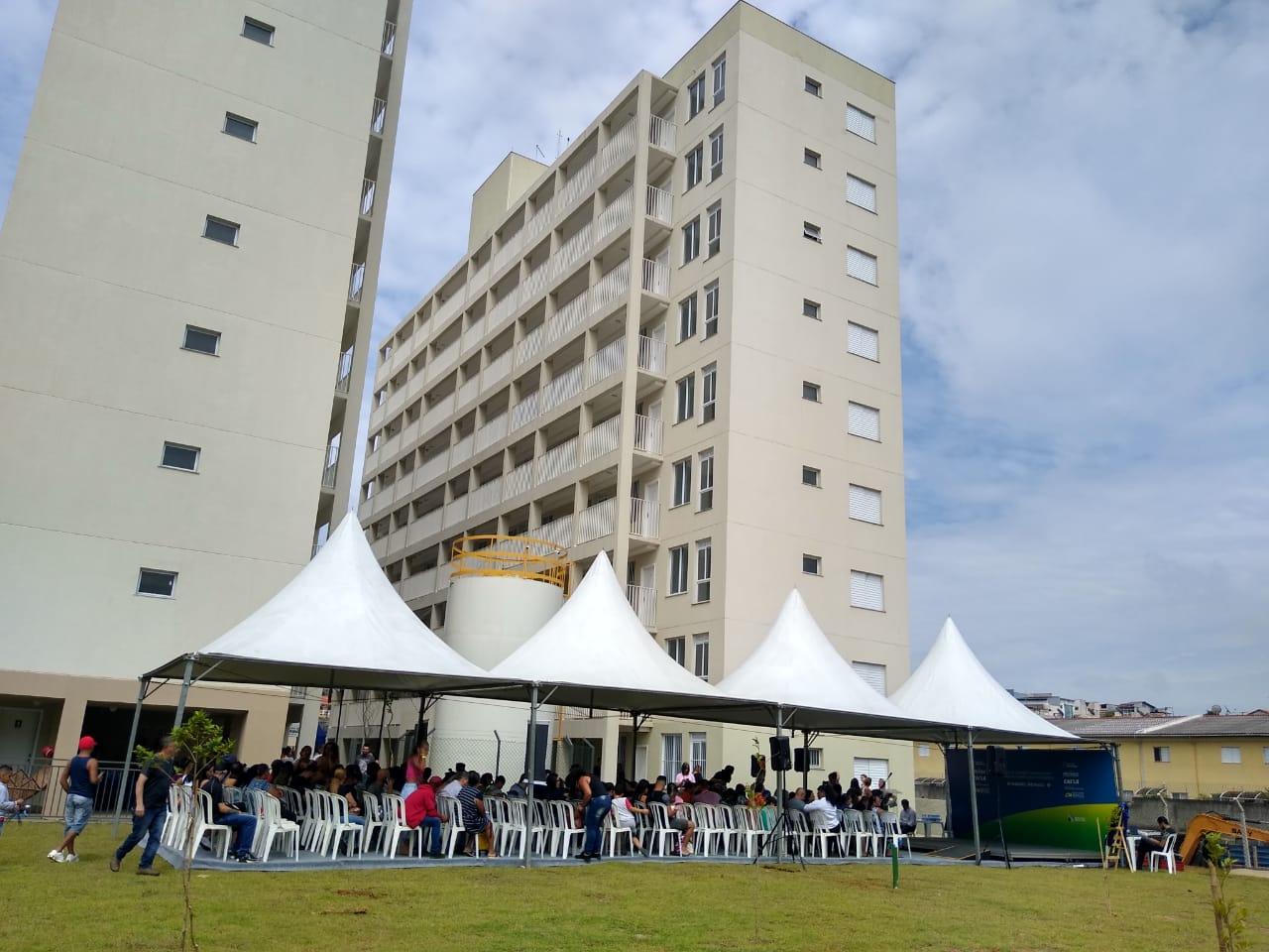 Prefeitura entrega 89 unidades habitacionais do Conjunto Campo das Pitangueiras, em Ermelino Matarazzo