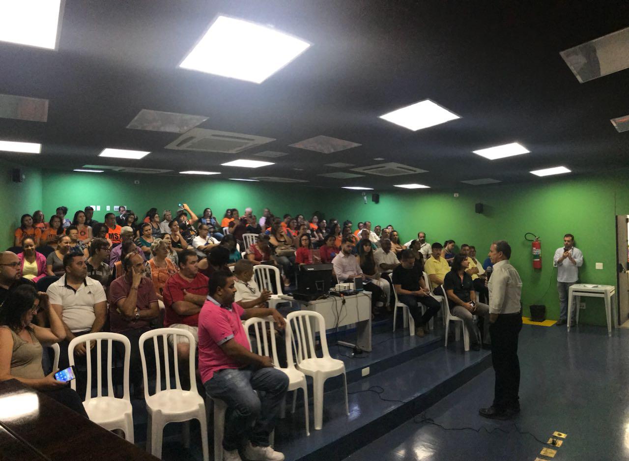 Img 3447 - Reunião sobre regularização fundiária e titularidade de imóveis de Heliópolis reúne cerca de 200 pessoas
