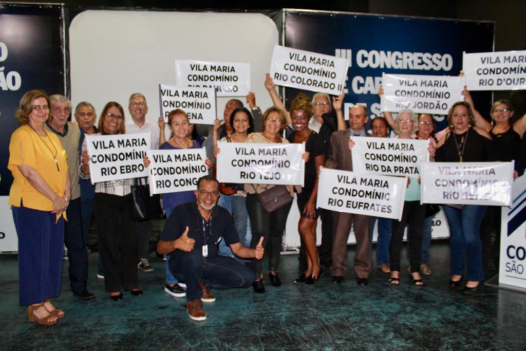 Cohab-SP entrega troféu Super Síndico no III Congresso de Capacitação dos Síndicos